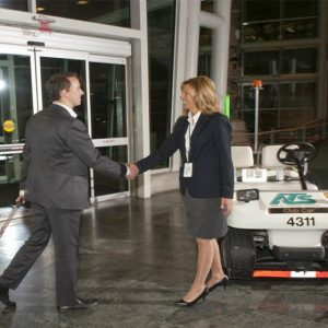 Airport Meet and Greet Electric Buggy Services