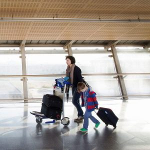 help for mothers at airport
