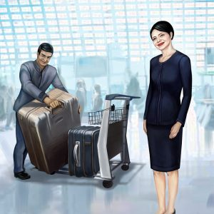 Airport Muscle Baggage Assistance