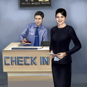 Check in Airport Concierge